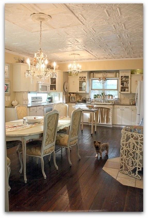 Fotos ideas para decorar casas - Cocinas estilo shabby chic ...
