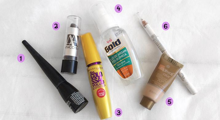 meus 6 produtos de beleza queridinhos