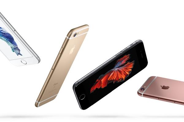 蘋果官方 iPhone 6S 的主要宣傳照。數位時代翻攝自 Apple 官網。
