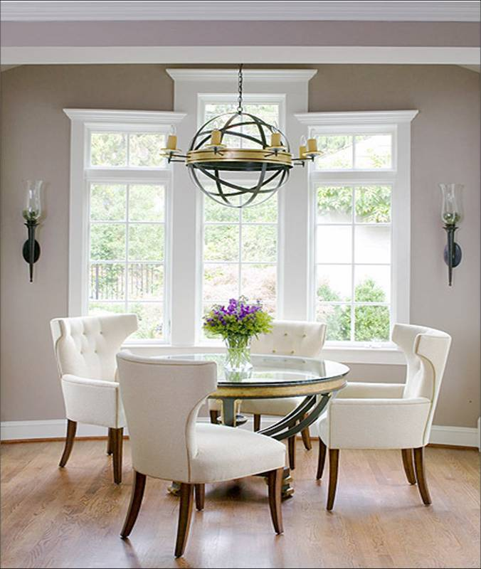 Gray Dining Room Ideas: Alas 3 Lads: Grey Walls