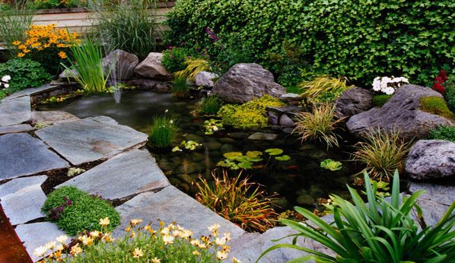 Marzua estanques para el jard n y la terraza for Vivero el estanque