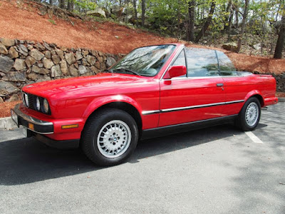Red 1988 BMW 325CI, for sale @ Foreign Motorcars Inc NOW!  BMW Service, BMW Repair & BMW Sales