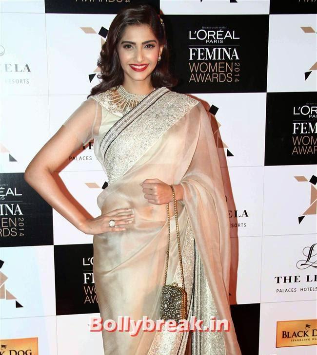 Sonam Kapoor, L`Oreal Paris Femina Women Awards 2014