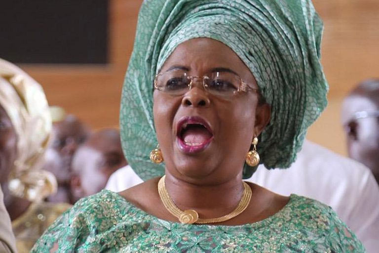Patience Jonathan should be arrested now, APC says
