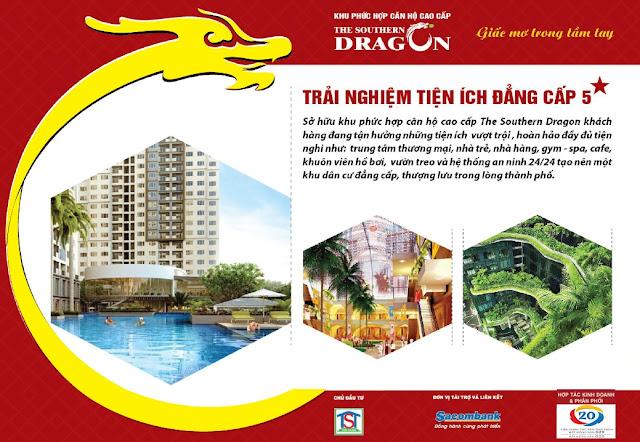 trai nghiem tien ich dang cap 5 sao tai the southern dragon tan phu