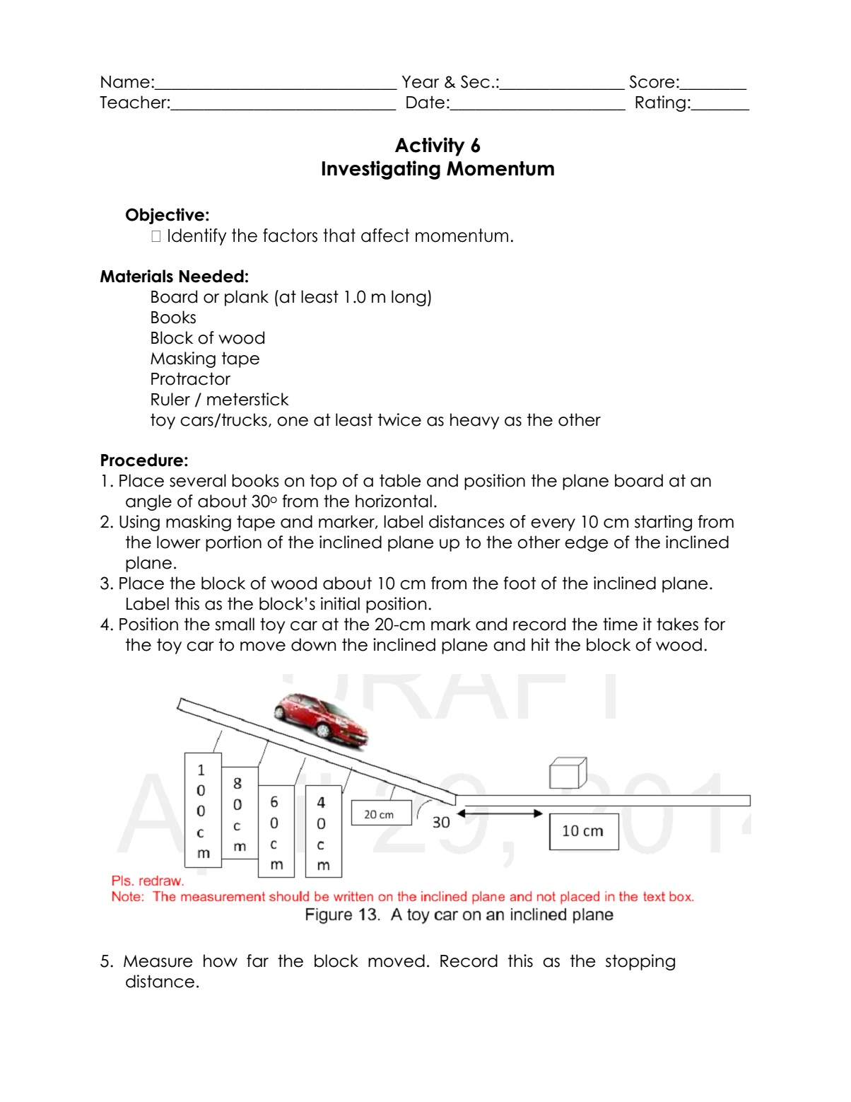Science Concepts And Questions K To 12 Forces And