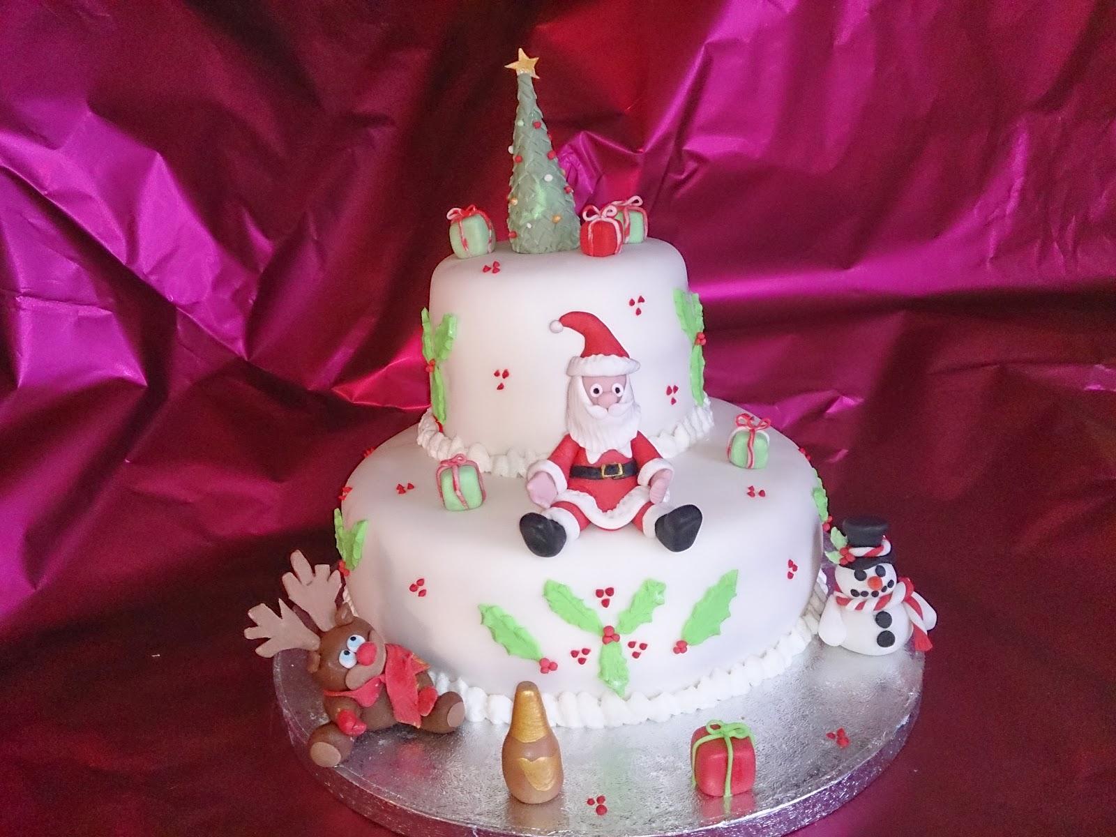 25/12/2013 torta di Natale a due piani