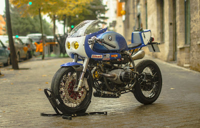 BMW R100 R Cafe Racer by XTR Pepo