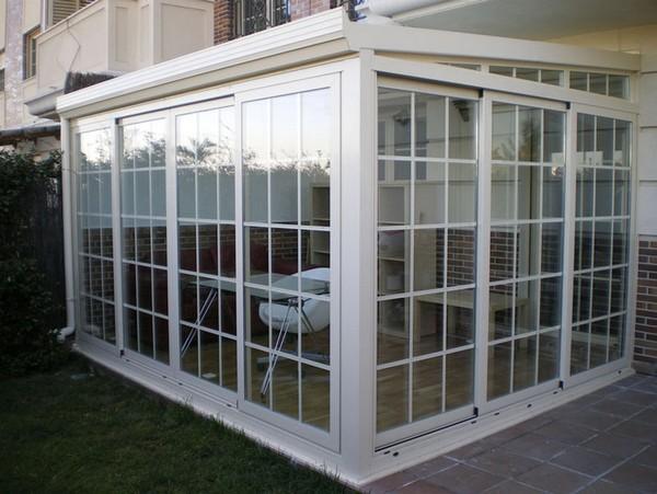 Pvc o aluminio para cerramientos cerramientos en - Cerramientos de aluminio para porches ...