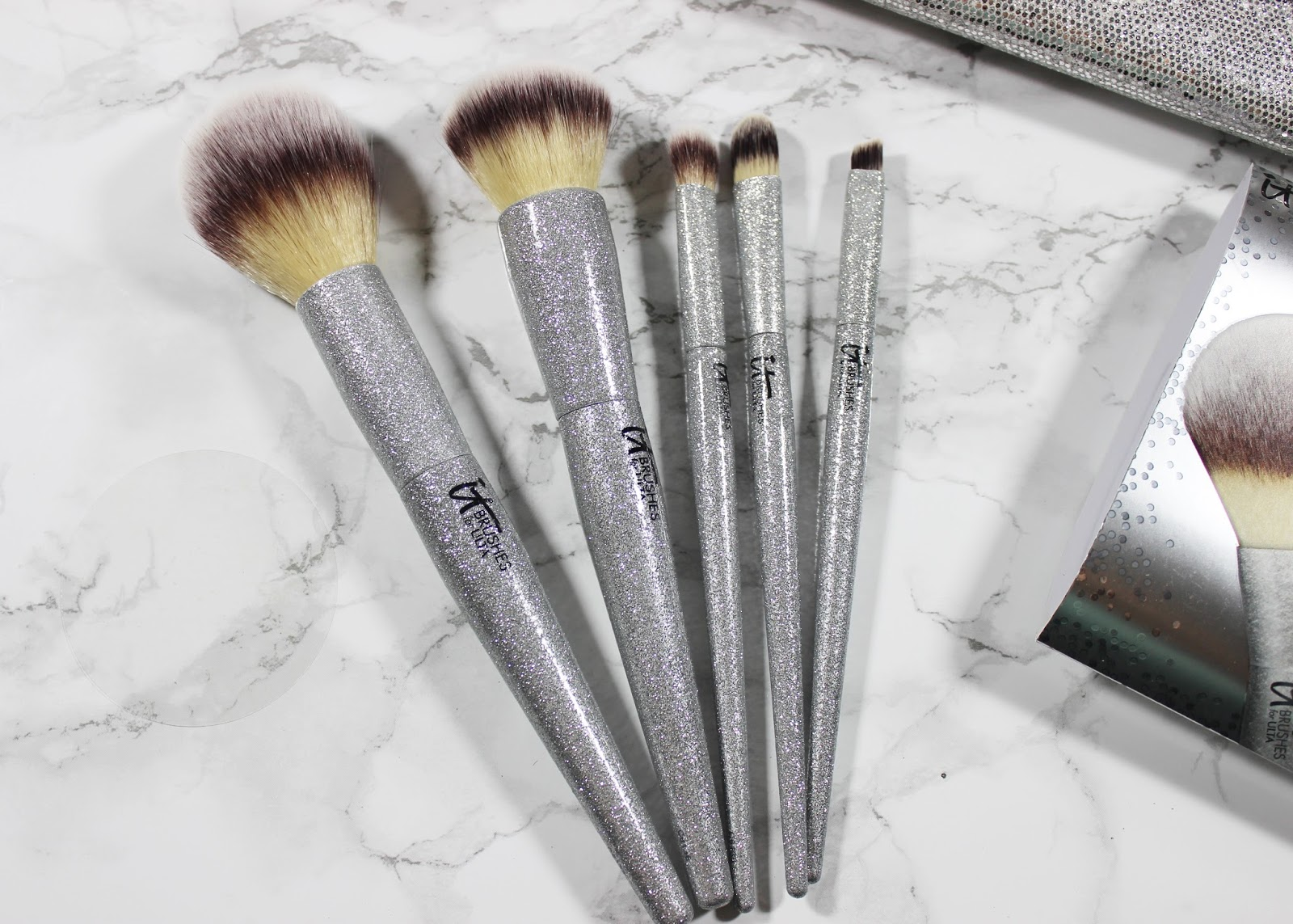 glitter brush set