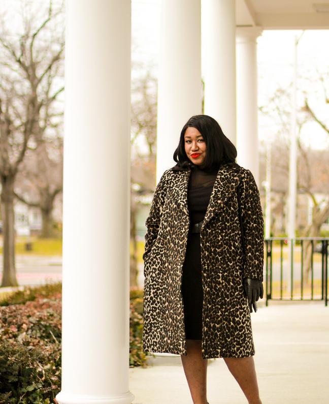 Plus Size Winter Coat Outfit Ideas