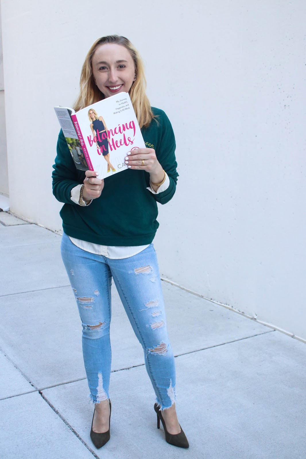 Currently Reading: 'Balancing In Heels' By Kristin Cavallari