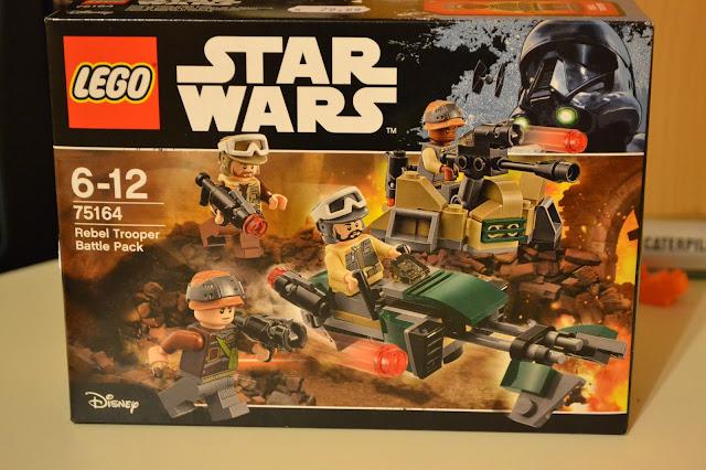 Lego Star Wars Set 75164 Rebel Trooper Battlepack Review