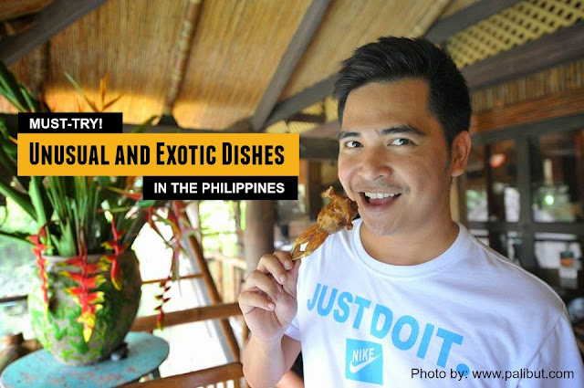 Must try Exotic Dishes in the Philippines