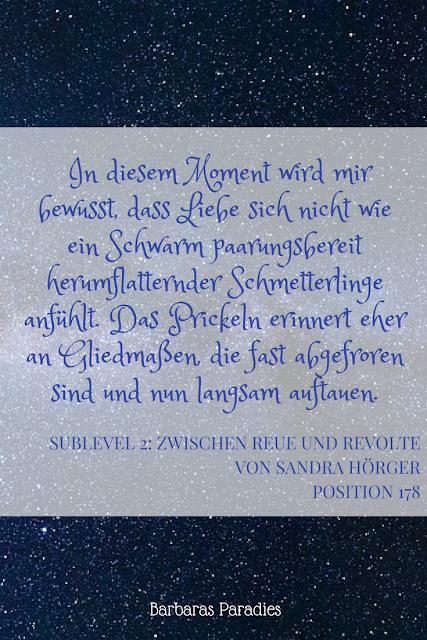 Buchrezension #178 Sublevel 2: Zwischen Reue und Revolte von Sandra Hörger