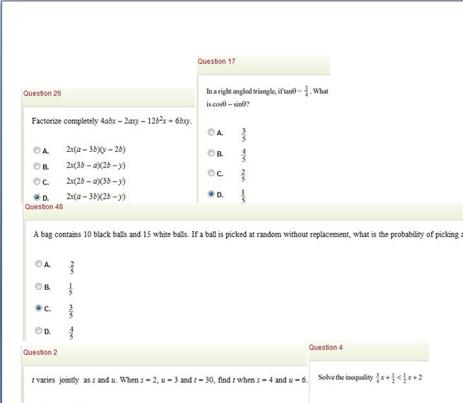 2012 waec economics essay questions and answers
