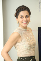 Taapsee Pannu in transparent top at Anando hma theatrical trailer launch ~  Exclusive 039.JPG