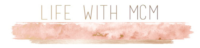 Rose Gold Blog Header, Water colour blog header