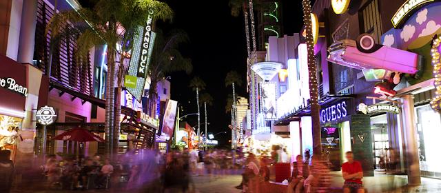 Como é o Universal CityWalk em Orlando