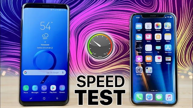 Samsung's Galaxy S9+ beats iPhone X in speed test