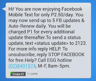 Globe Facebook 2123