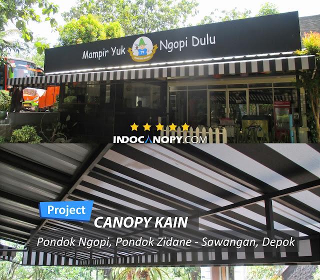 canopy kain depok jawa barat