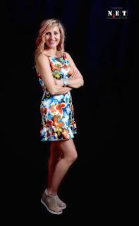 Irina Tancau conduttrice TV piu brava di tutte