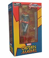 Captain Marvel nella confezione a Finestra