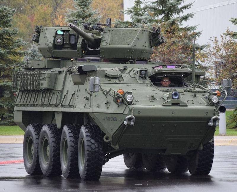 БТР Страйкер з баштою МСТ-30