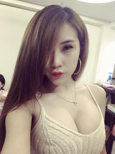 DJ Diệp Anh Khoe Ngực Đẹp Kèm Link FaceBook