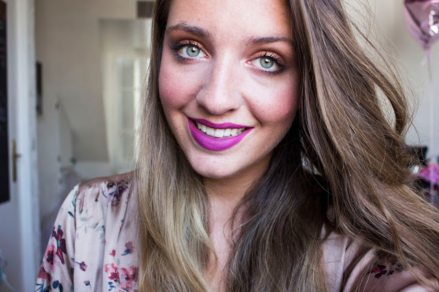 Tutoriel maquillage avec la Naked Heat de Urban Decay