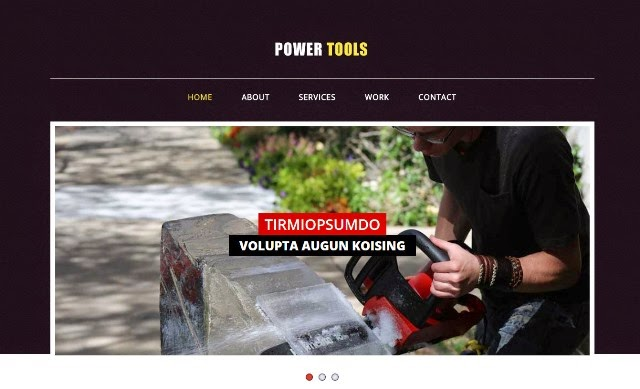 Power Tools - Industrial Bootstrap Responsive Template