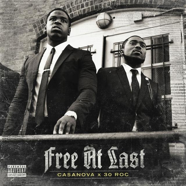 Casanova Free at Last EP cover