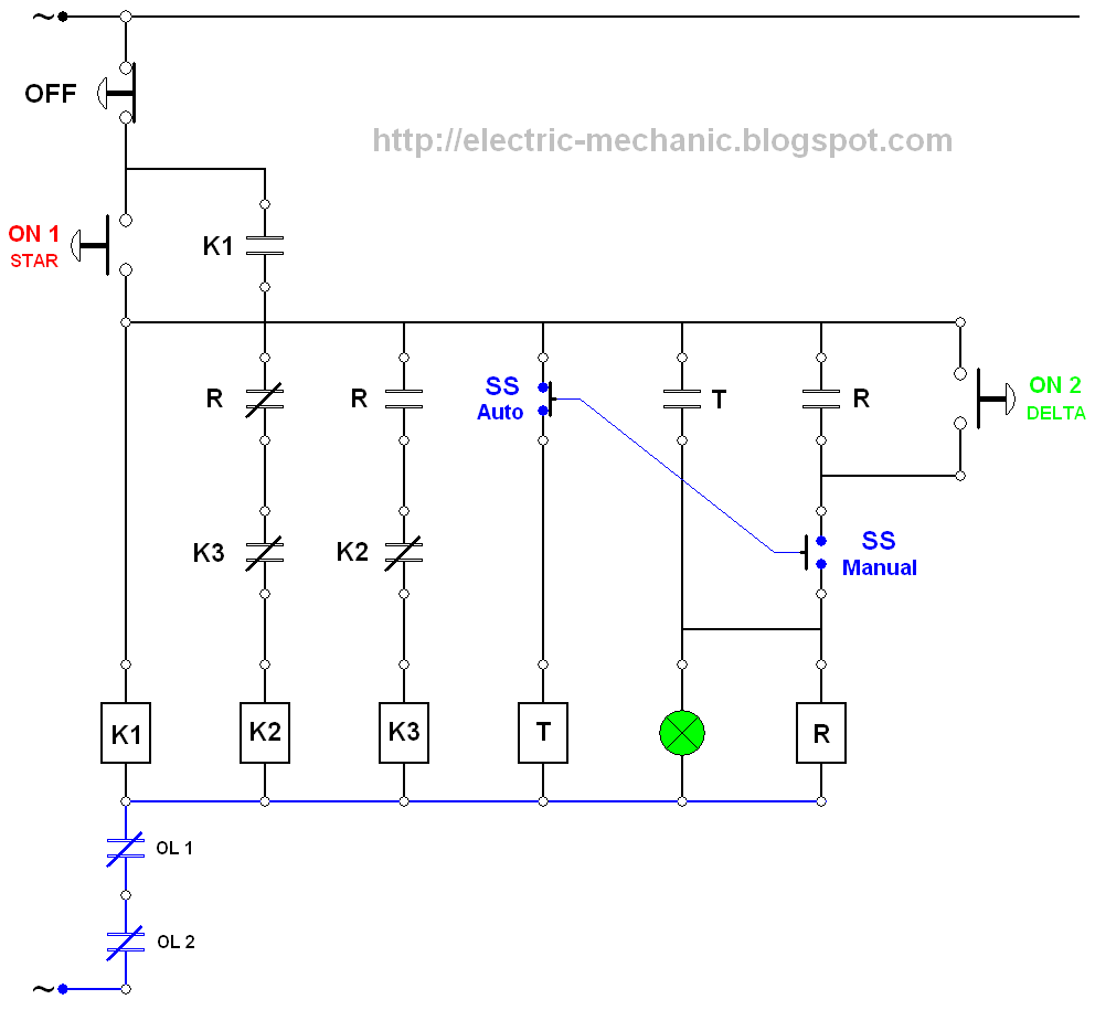 Control Wiring Diagram Together With Star Delta Starter Control Wiring