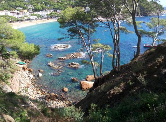 Camí de ronda, entre Calella i Tamariu