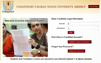 CCS University direct admission open in all colleges/course