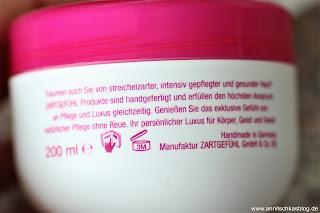 Review: Zartgefühl - Körper Sahne und Körper Peeling - Vegan! Tierversuchsfrei und viele andere tolle Sachen!! - www.annkitschkasblog.de