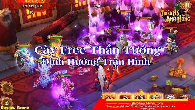 Game Thiên Hạ Anh Hùng V1.6.0.0713 Mod | Menu Mod | Fast Win