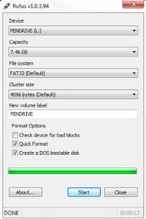 Cara Install Windows 7 Menggunakan Flasdisk Rufus