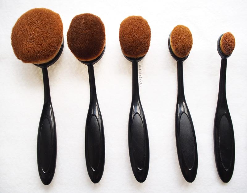 eBay Affordable Artis Brush Dupe Oval Brushes
