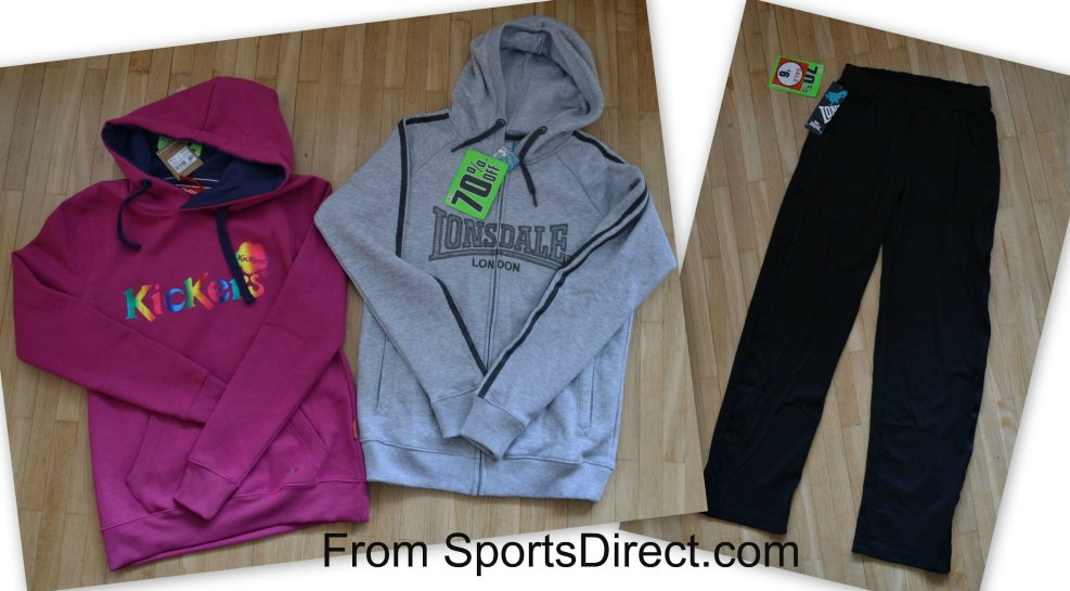 SportsDirect haul