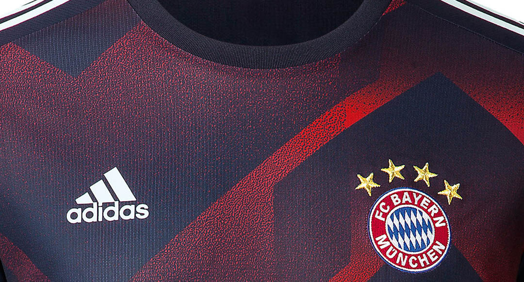 Adidas recently introduced the new Bayern pre-match top for the 2017-18  season. Fusing classic 1990s pattern with modern inspirations f2042ca3e