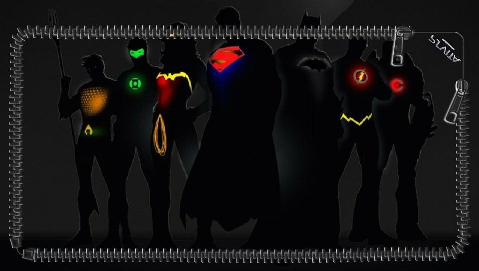 The Justice League PS Vita LockScreen