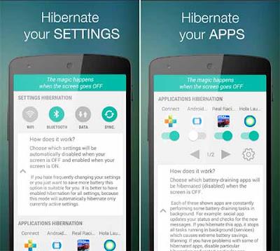 Hibernation Manager - App Hemat Baterai