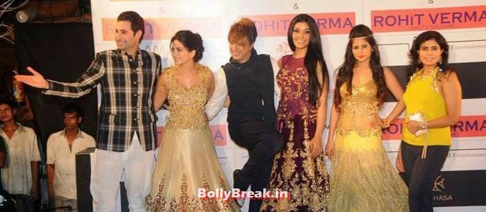 Daniel Weber, Sunny Leone, Rohit Verma, Koena Mitra, Priyanka Shah, Shilpa Marigold, Sunny Leone, Koena Mitra Hot Pics from  Rohit Verma's Bridal Show