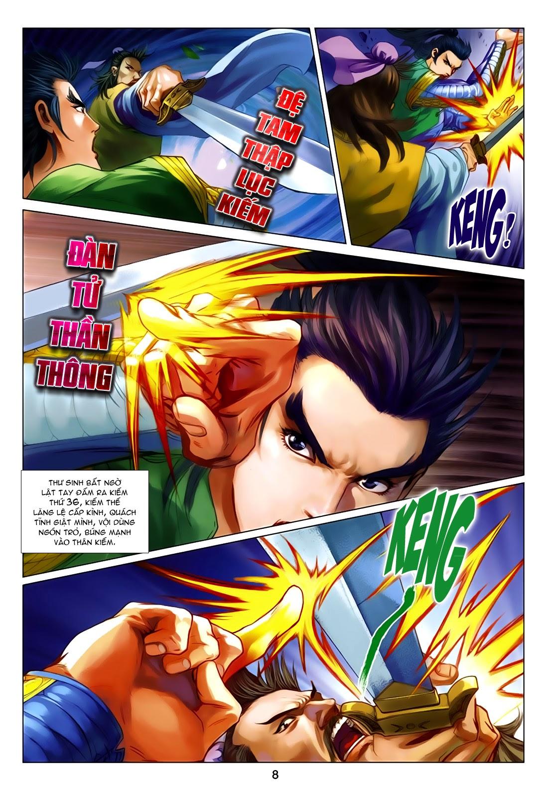 Anh Hùng Xạ Điêu anh hùng xạ đêu chap 75: hoàng thành cựu sự trang 8