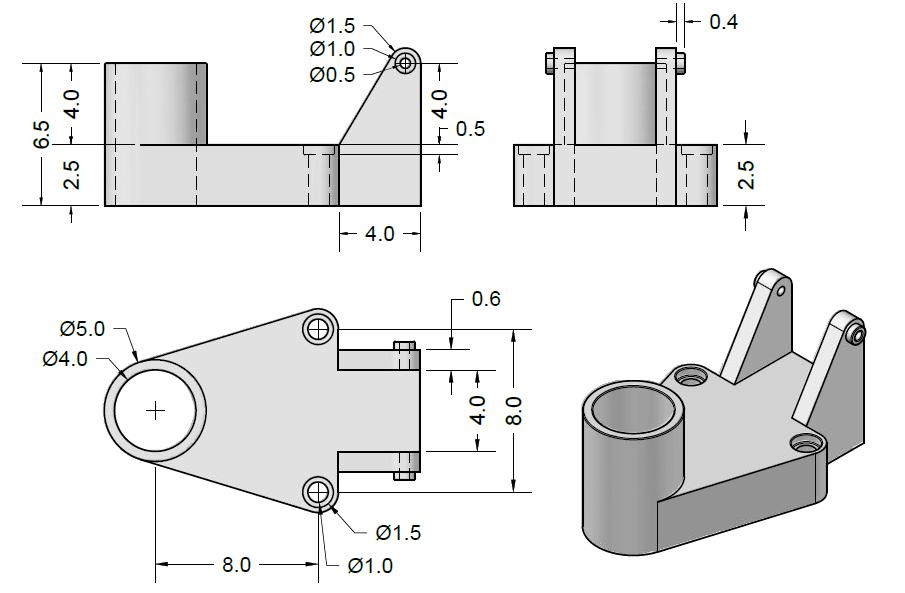 LATIHAN PRAKTIS AUTOCAD 3D : DESAIN 1