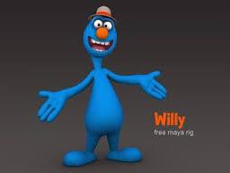 Escape Studios Animation Blog: Meet Willy! Free Maya Rig by Matthew