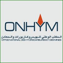 ONHYM المكتب الوطني للهيدروكاربورات والمعادن