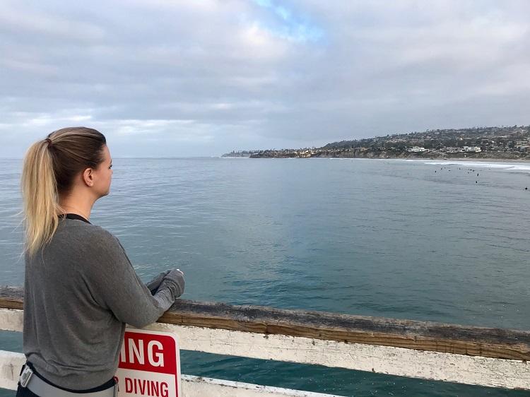 Pacific Beach, Pacific Beach Pier, San Diego California